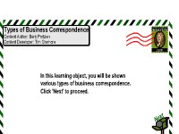 Types of Business Correspondence