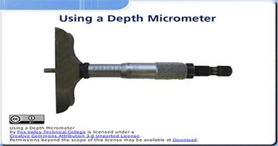 Using a Depth Micrometer