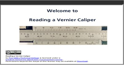 Vernier Measurements Review