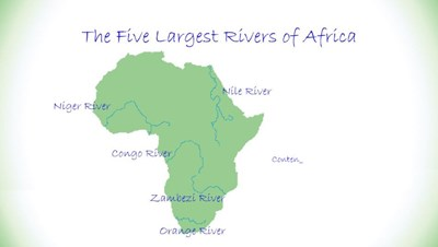 The Five Largest Rivers of Africa (Screencast)