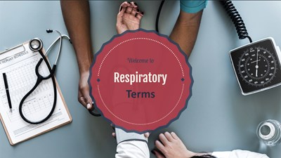 Respiratory Terms