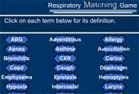 Respiratory Matching Game