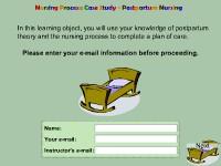Nursing Process: Case Study - Postpartum Nursing