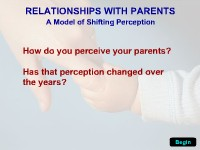 Relationships With Parents: A Model of Shifting…