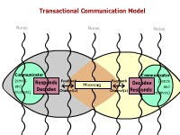 Transactional Communication Model (Graphic)