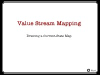 Value Stream Mapping: Drawing a Current-State Map