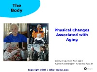 Physical Changes Associated with Aging