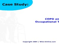 Case Study: COPD and Occupational Therapy