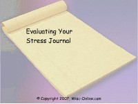 Evaluate Your Stress Journal