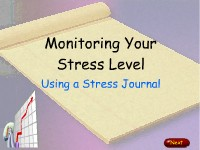 Monitoring Your Stress Level