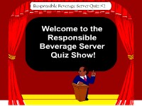 Responsible Beverage Server Game Show #2