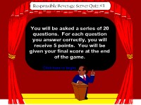 Responsible Beverage Server Game Show #3