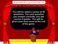 Responsible Beverage Server Game Show #4