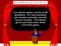 Responsible Beverage Server Game Show #5