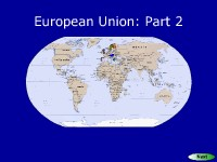 European Union: Part 2