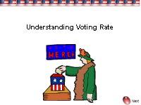 Understanding Voting Rates