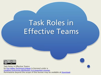 Task Roles in Effective Teams