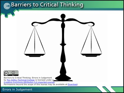 obstacles to effective critical thinking Overcoming obstacles to effective scenario planning  for example, without  stopping to think about whether the uncertainties they're testing are the most  in  scenario planning, it's critical to avoid the temptation to rush to model trends and .