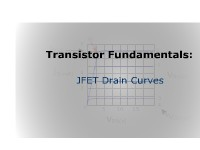 Transistor Fundamentals: JFET Drain Curves