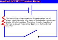 Graphical BJT/JFET Transistor Biasing