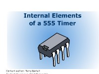 Internal Elements of a 555 Timer
