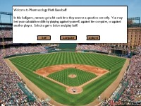 Pharmacology Math Baseball