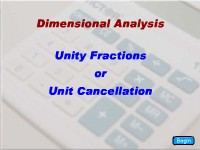 Unity Fractions/Unit Cancellation