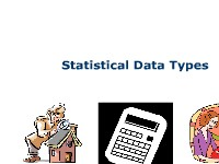 Statistical Data Types
