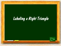 Labeling a Right Triangle