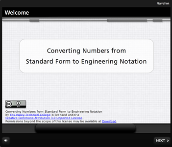 Converting Numbers from Standard Form to Engineering Notation
