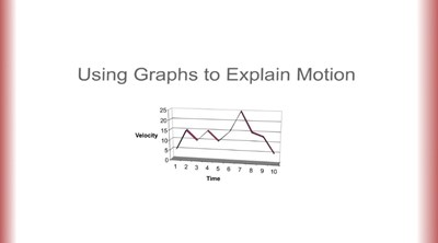 Using Graphs to Explain Motion (Screencast)