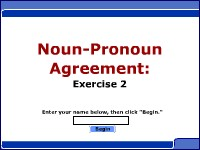 Noun / Pronoun Agreement - Exercise 2