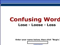 Confusing Words -- Lose, Loose, Loss