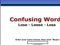 Confusing Words -- Lose, Loose, Loss