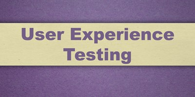 User Experience Design: Testing