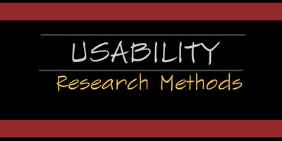 User Experience Design: Usability Research Methods