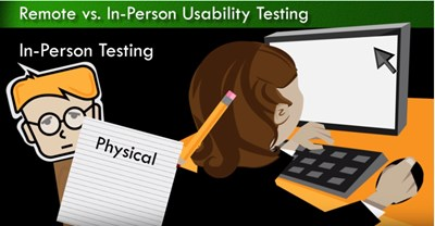 User Experience Design : Remote vs. In-Person Usability Testing