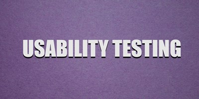 User Experience Design: Usability Testing