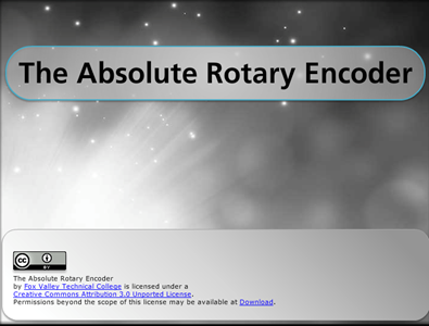 The Absolute Rotary Encoder
