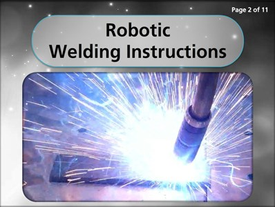 Robotic Welding Instructions