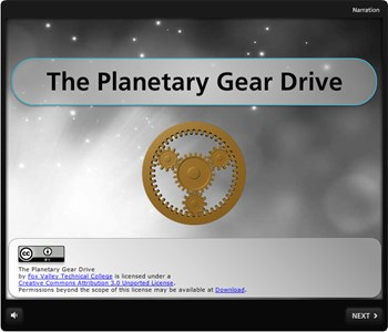 The Planetary Gear Drive
