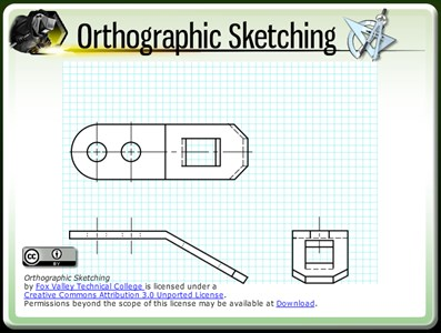 Orthographic Sketching