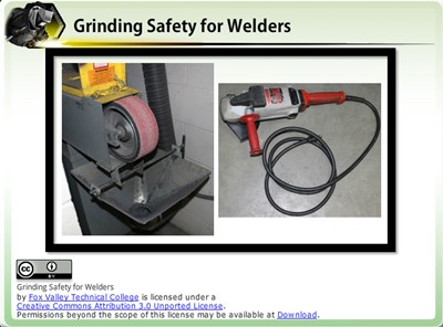 Grinding Safety for Welders