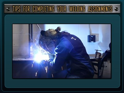 Tips for Completing Welding Assignments