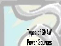 Types of Power Sources for Gas Metal Arc Welding